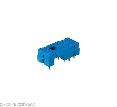 2x SOCKET SERIES 95 MOD. 95.15.2 FOR RELAY' FINDER 4052 (packaging 2 Pieces)