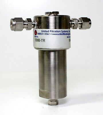 New United Filtration Systems 120B-TR Stainless Steel Gas Filter, Max: 5000 PSI