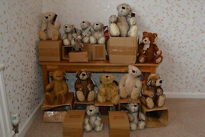 Gund Bears Job lot - 14 bears all limited editions - various