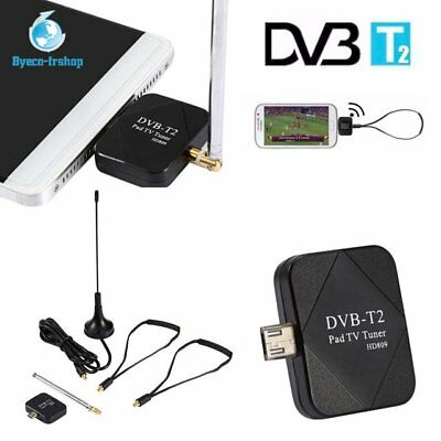 Micro USB DVB-T TV Knüppel Digital Tuner para iPhone Android Tablets Handy Gut