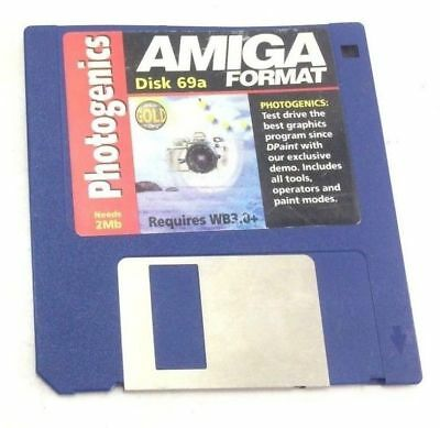 Commodore Amiga Format Disk Magazin Cover Disk 69a Photogenics Diskette