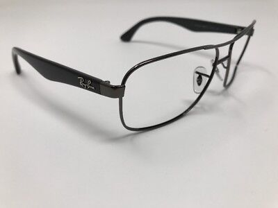 6560ca35ee Ray Ban Sunglasses Italy RB 3516 004 Black Gunmetal Frame Only 59mm ITALY  J647