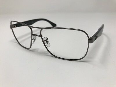 9eb7d8f7d6 Ray Ban Sunglasses Italy RB 3516 004 Black Gunmetal Frame Only 59mm ITALY  P687