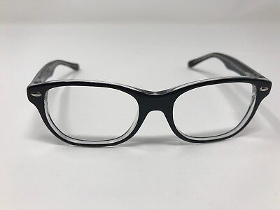 db0514b483a Ray Ban Eyeglass Frame Kids RB 1555 3529 48-16-130 Youth Black Crystal