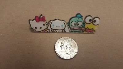 New Sanrio Friends pin #C-includes Cinnamoroll, Keroppi, Hangyodon, Hello Kitty