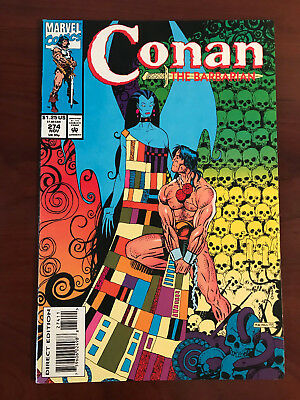 CONAN THE BARBARIAN 274, Low Print Run 2nd to LAST ISSUE FINE