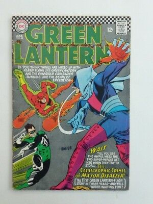 SALE! Green Lantern (with The Flash). #43 Silver Age 1966. FN-VFN