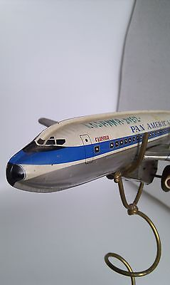 Haji Douglas DC-8-32/33 Pan American Jet Clipper Tin-Litho Battery, 1965 Mansei