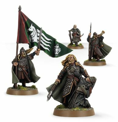 Warhammer Rohan Commanders the Lord of the Rings resin new