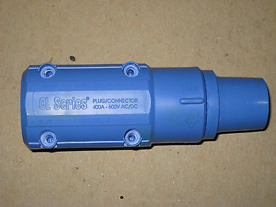 Advanced Devices CL Series CL2F Inline female locking plug connector Blue