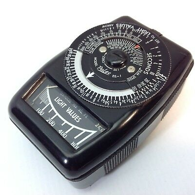 Vintage Palec PE-1 Exposure / Light Meter with Instructions