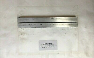 "2 Pieces of 1"" X 1"" 6061 T6511 SQUARE ALUMINUM FLAT BAR 12"" long Stock"