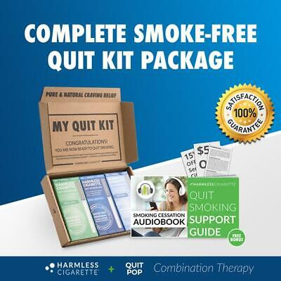 Quit Smoking Product  / 30 day Quit Kit +Free Stop Smoking Support Guide -3 Pack