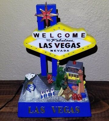 "FLASH SALE! 6"" Light-Up Las Vegas Neon Sign (works perfectly)"