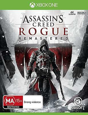 Assassins Creed Rogue Remastered HD Action Role Play Game Microsoft XBOX One XB1