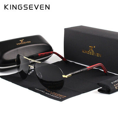 Men's KINGSEVEN Vintage Aluminum HD POLARIZED Sunglasses LIMITED EDITION!