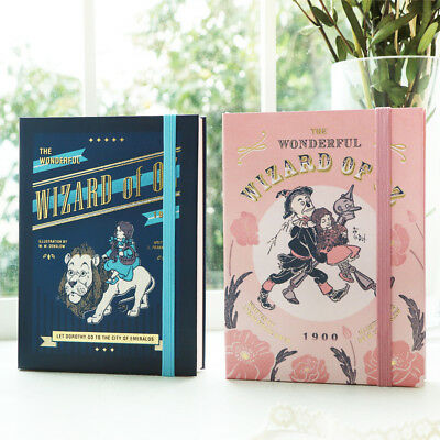 2019 Blank Diary Wizard of OZ Planner School Agenda Notebook Portable Monthly