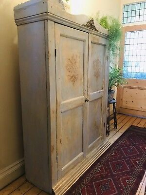 Beautiful Vintage French Armoire / Linen Press
