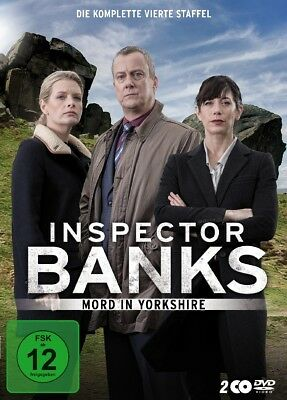 K - Inspector Banks. Staffel.4, 2 DVDs