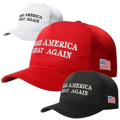 2016 Trump Make America Great Again Oz Red Embroided Adjustable Cap Hat Snapback