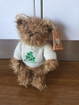 Rory The Ireland Bear New With Tags