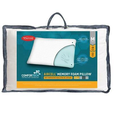Tontine Comfortech Aircell Gel Infused Memory Foam Pillow