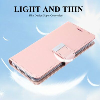 Ultra Slim Mobile Phone Case with Card Slots PU leather Fr Samsung S9/S9 plus NB