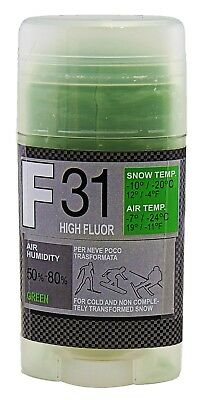 Sciolina F31 High Fluor Green Block Gr 180 Other Downhill Skiing