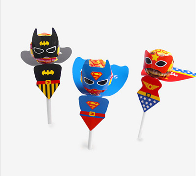 Kids Birthday Party Bag Fillers Loot Gift Decoration Superhero Wander woman