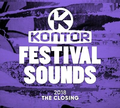 Kontor Festival Sounds 2018 - The Closing, 3 Audio-CDs