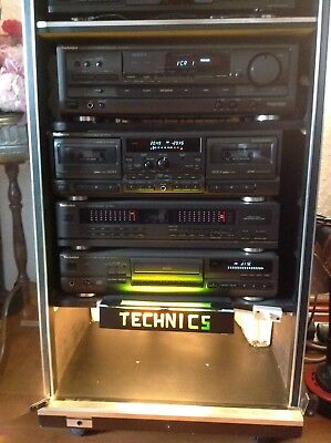 HI FI STACK, AV rack, TV stand, Handmade iron with antique