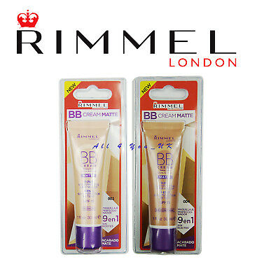 Rimmel London BB Cream Matte SPF15 Sealed 30 ml- Please Choose
