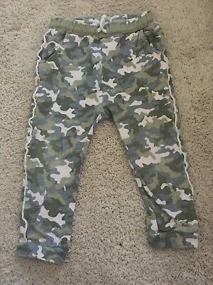 Girls Camo Trousers 2-3 Yrs