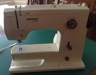 BERNINA 40 SEWING Machine FOR PARTS ONLY £4040 PicClick UK New Bernina 807 Sewing Machine