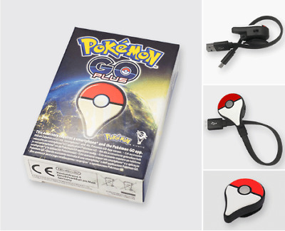Modded Official POKEMON GO PLUS Nintendo with USB charger