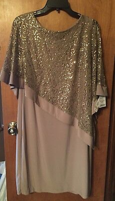 R&M Richards Style 8749 Mother-of-the-Bride Party Dress New w/ Tags Size 12