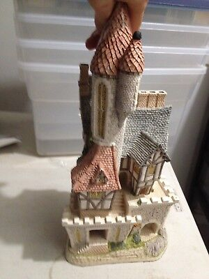 Offers welcome - David Winter Cottages Castle in the Air 1991 sculpture