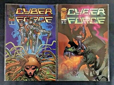 Cyber Force - 11-20 - Near Mint - Complete 10 issue run - IMAGE Comic Books