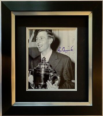 Roger Bannister Hand Signed Framed Photo Display 4 Minute Mile Olympics 4.