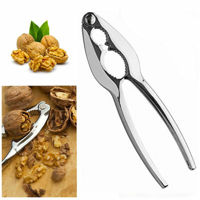 Nutcracker Nut Cracker Walnut Plier Nut Hard Shell Remover Opener Splitter Steel