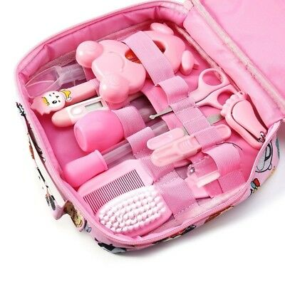 Baby Nail Care Set Grooming Kit Health Hair Brush Thermometer Newborn Clippers