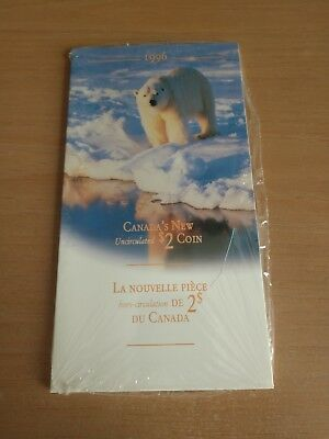 1996 Canada Uncirculated $2.00 Coin In sealed package