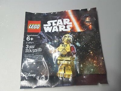 Authentic Lego Minifigure 5002948 The Force Awakens C-3PO Exclusive Figure New
