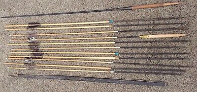Antique African Namibia? BUSHMEN Handcrafted Bow, Arrows (11) & Spear