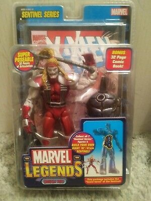 Marvel Legends - OMEGA RED Sentinel Series BAF - Toybiz NIB