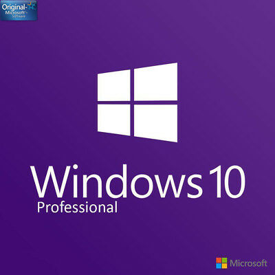 Upgrade Microsoft Windows 10 Home to Windows 10 Pro LICENCE KEY 32/64 With Guide