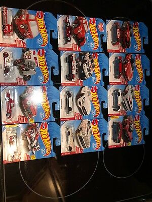 2018 Hot Wheels Target Red Edition Complete Set Of 12