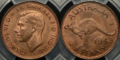 Australia 1943I Penny 1d Choice Uncirculated PCGS MS64RB  eBay HTML to Clipboard