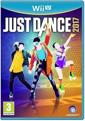 WII U JUST DANCE 2017 GAME BRAND NEW in plastic!