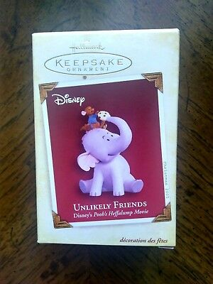 UNLIKELY FRIENDS (Disney), Hallmark Ornament, 2005